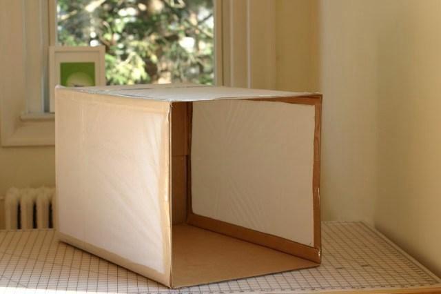 7. DIY Photo Light Box