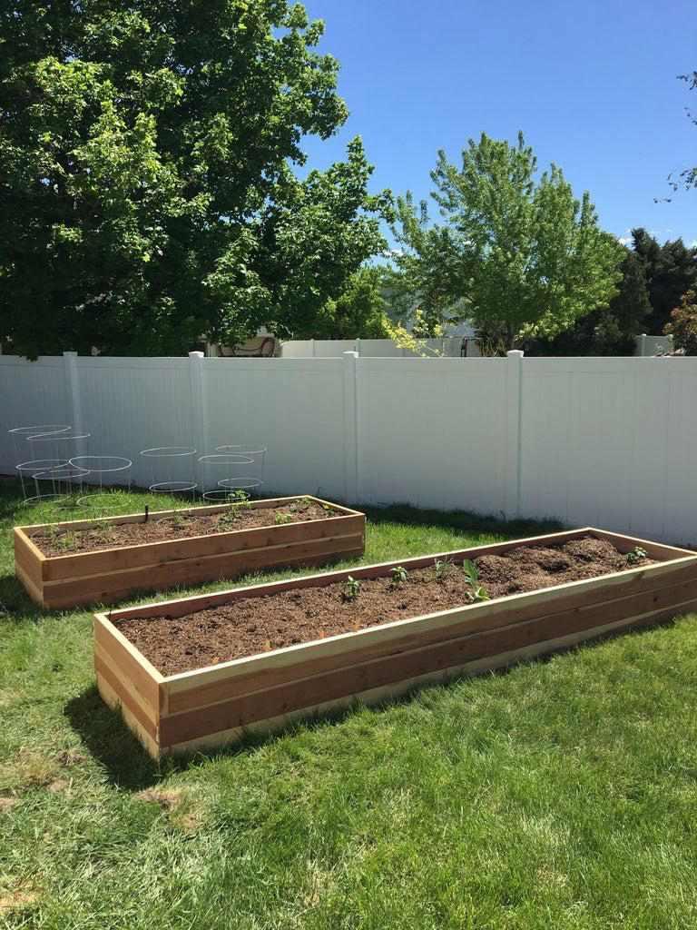 7. DIY Planter Boxes