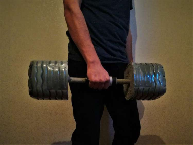 7. How To Make Concrete Dumbbells