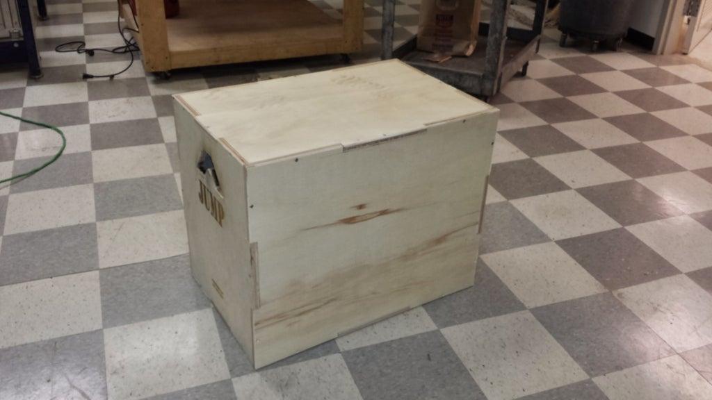 8. Crossfit Style DIY Plyo Box
