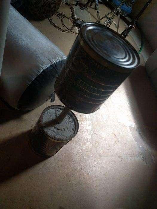 8. DIY Cement Dumbbells
