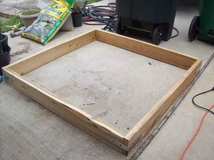 8. DIY Easy Garden Boxes