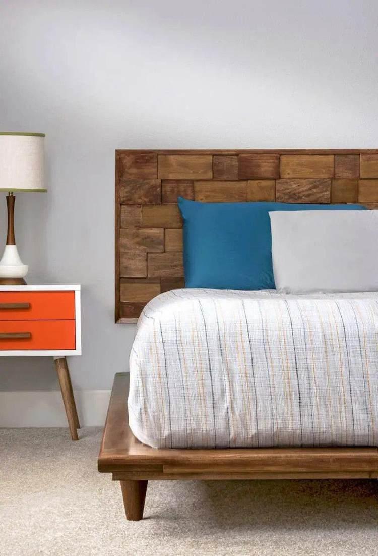 8. DIY Platform Bed Frame
