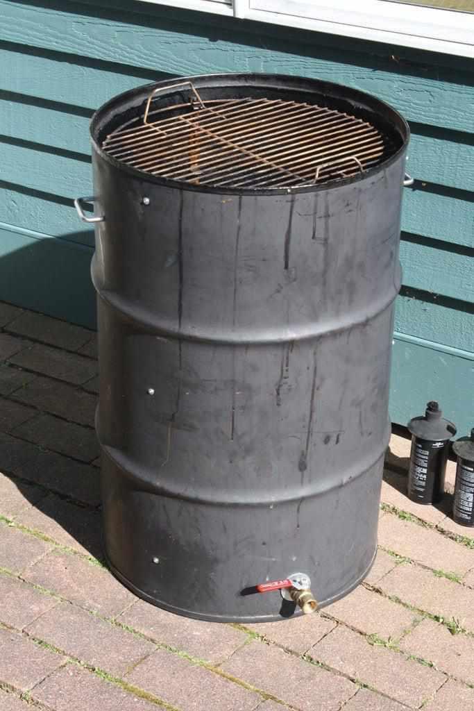 9. DIY Ugly Drum Smoker