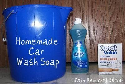 9. Homemade Car Wash Soap Recipe
