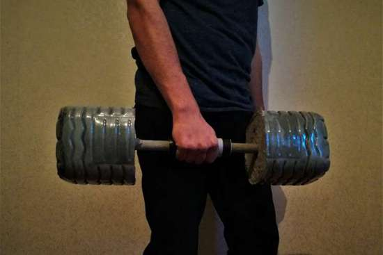 DIY Dumbbell Projects