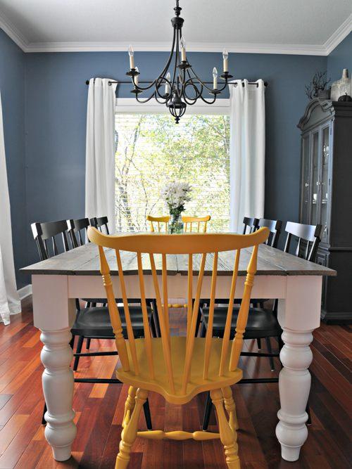 DIY Farmhouse Table Ideas