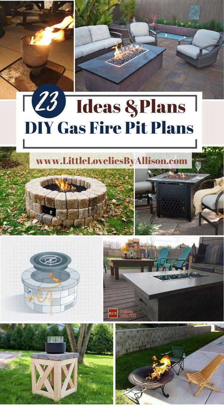 DIY Gas Fire Pit Plans
