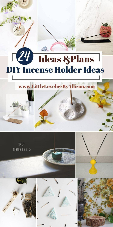 DIY Incense Holder Ideas