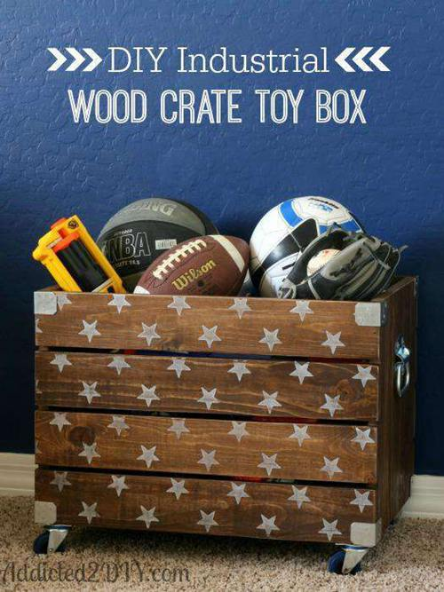 DIY Toy Box Ideas