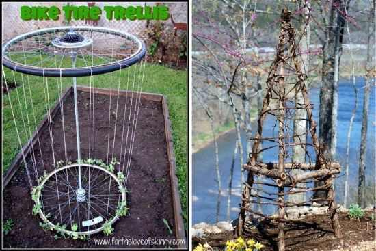 DIY Trellis Idea