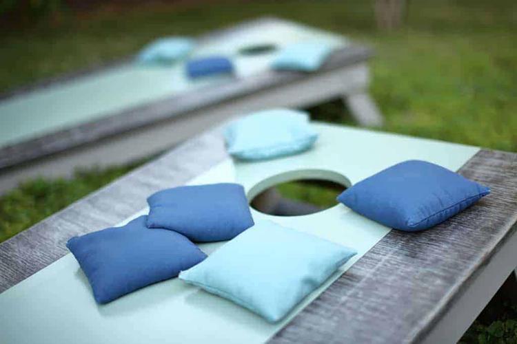 1. DIY Cornhole Bags