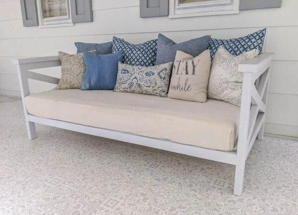 1. DIY Daybed Plans For $50