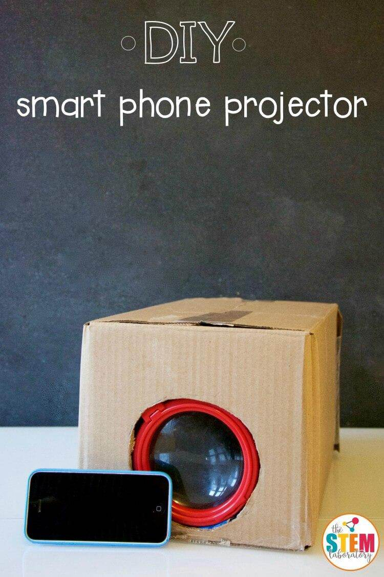 1. DIY Smartphone Projector