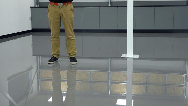 10. DIY Indoor Epoxy Dance Floor