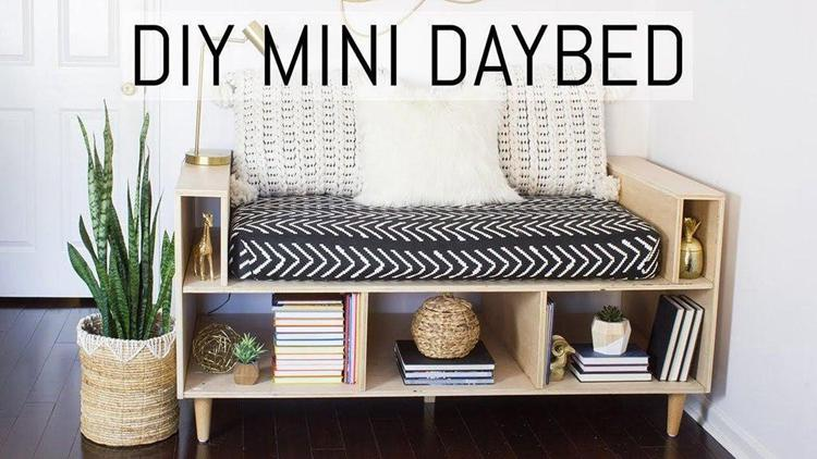 10. DIY Mini Daybed