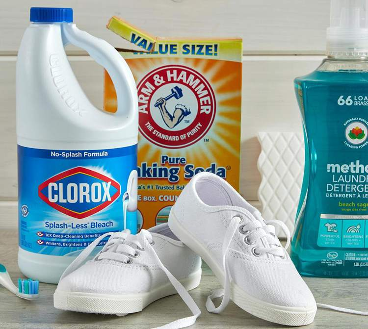 10. DIY Shoe Cleaner