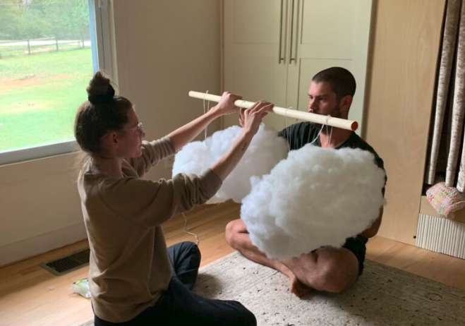 10. Homemade DIY Cloud Light