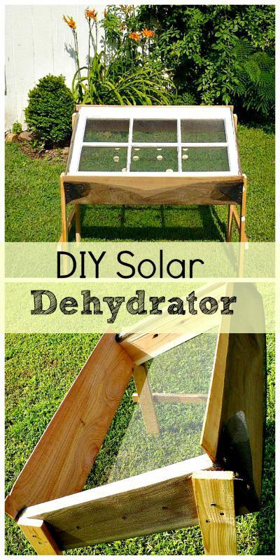 11. DIY Solar Dehydrator For Food
