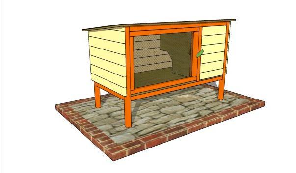 11. Free Outdoor Rabbit Hutch Plans