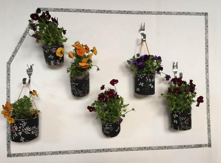 11. Indoor DIY Wall Planter
