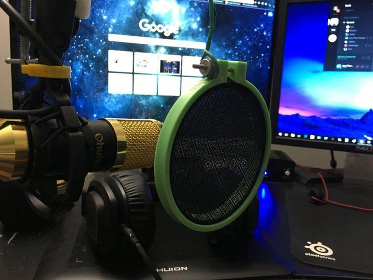 12. DIY Cheap And Repairable Pop Filter