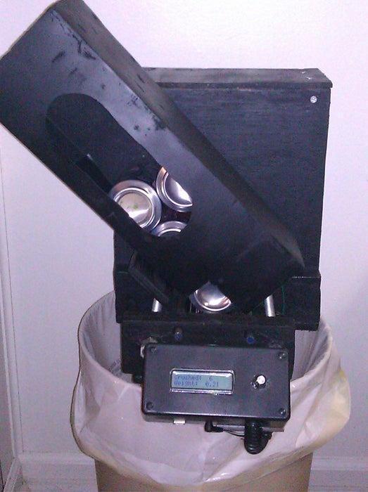 13. DIY Arduino Controller Can Crusher