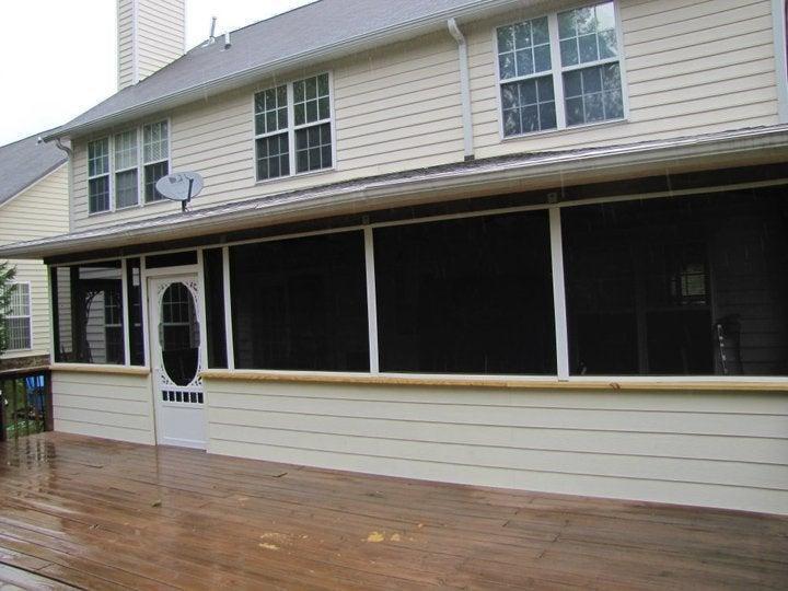 13. DIY Screened In Porch