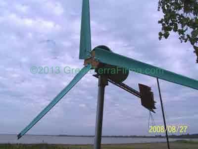 13. DIY Wind Turbine