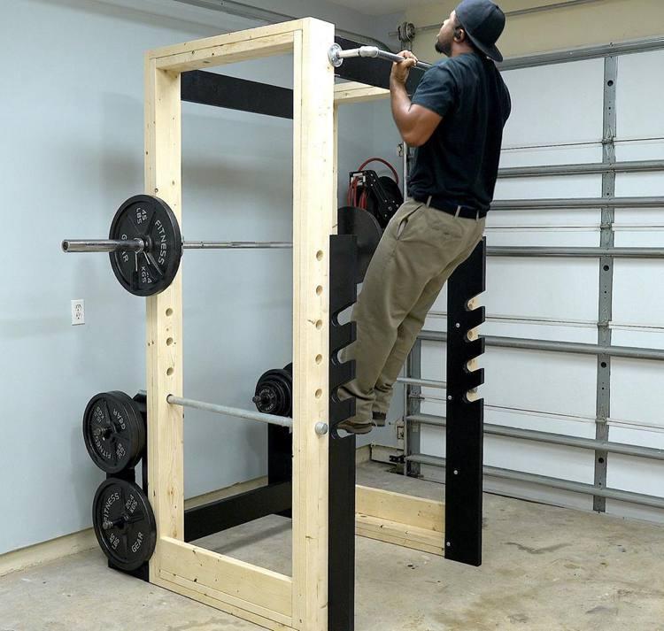 14. DIY Power Rack (Paid)