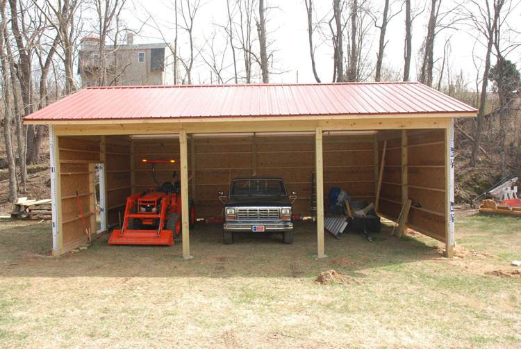 14. Pole Barn DIY