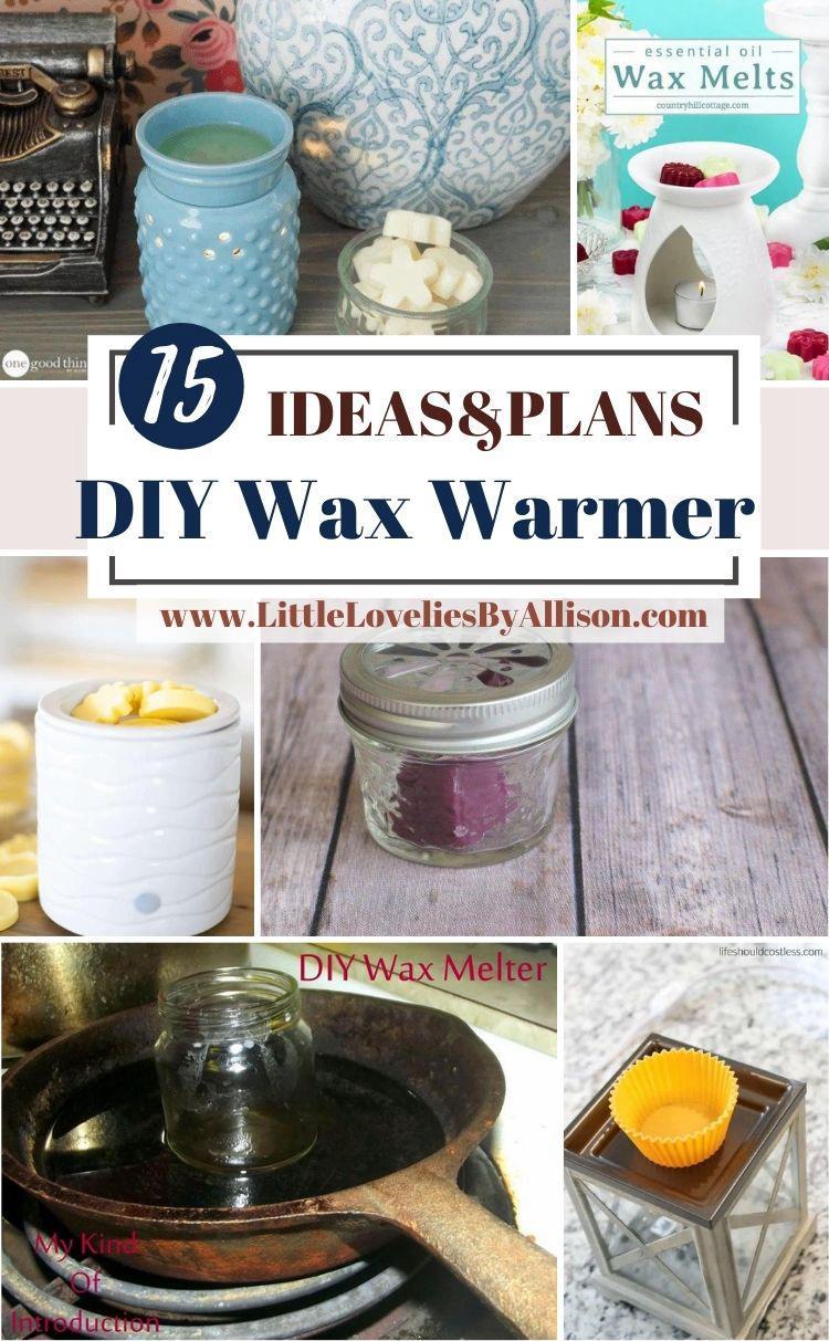 15 DIY Wax Warmer_ How To Make A Wax Burner