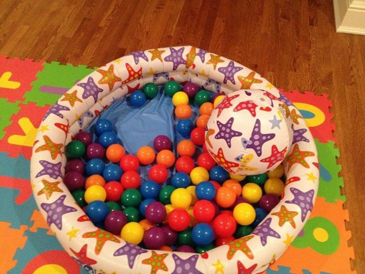 15. DIY Ball Pit