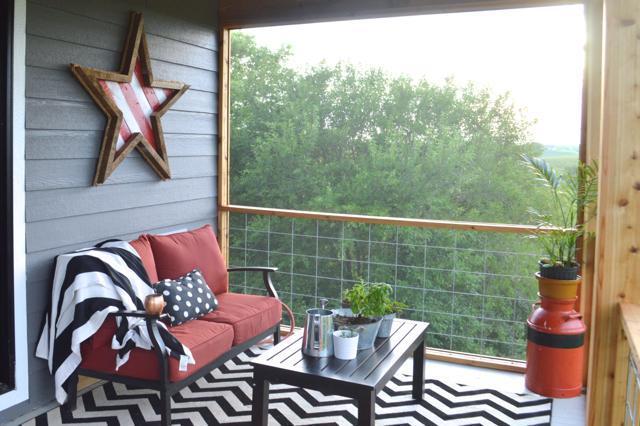 15. DIY Screened Porch