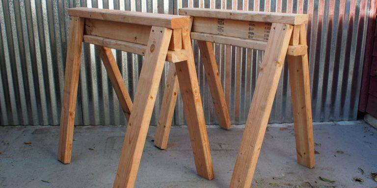 15. How To Build Stackable Sawhorses