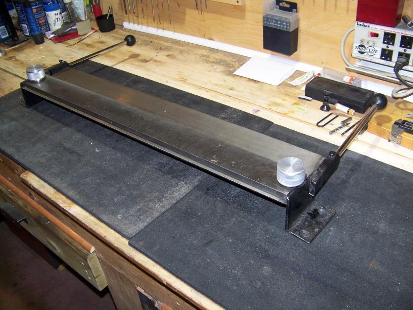 16. DIY Metal Brake Modified