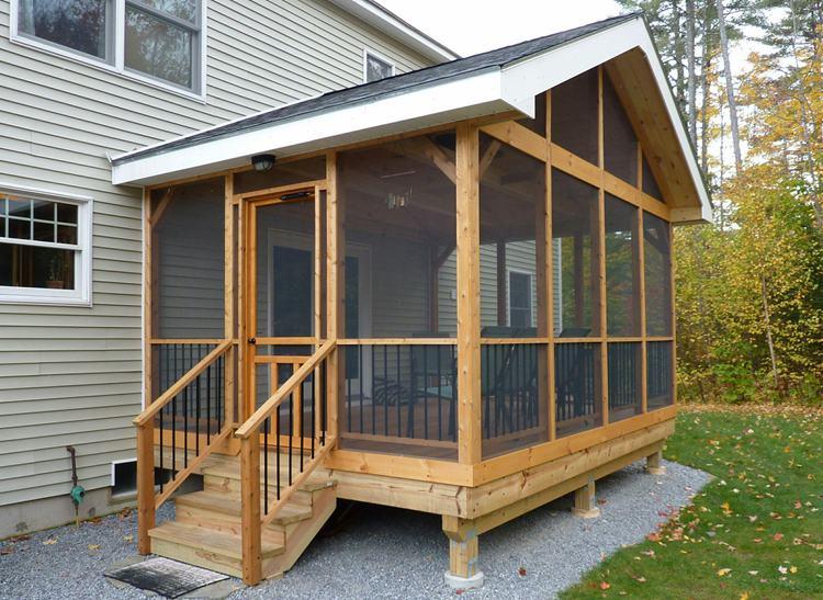 16. DIY Screen Porch