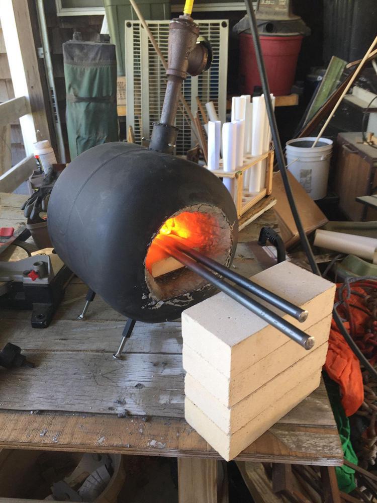 16. Homemade Propane Forge
