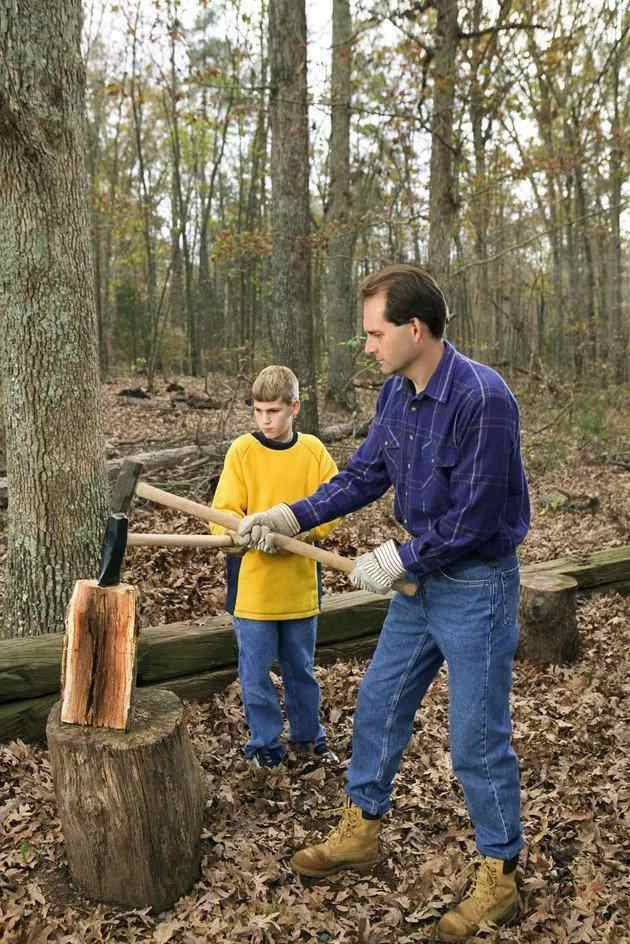 16. How To Make A Log Splitter With Jack