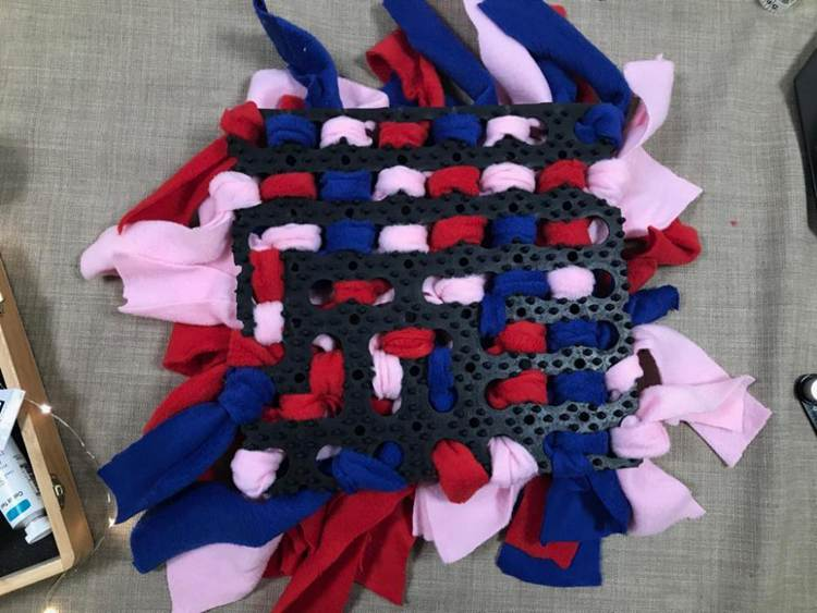 16. How To Make A Snuffle Mat For Your Dog