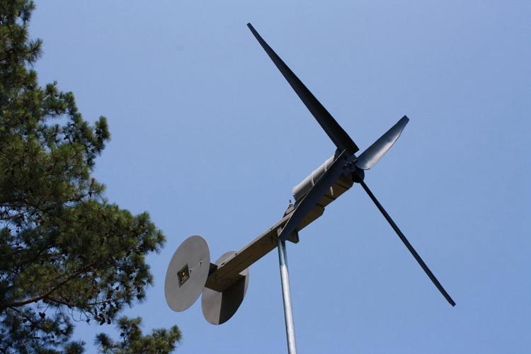 16. Small Wind Turbine Build