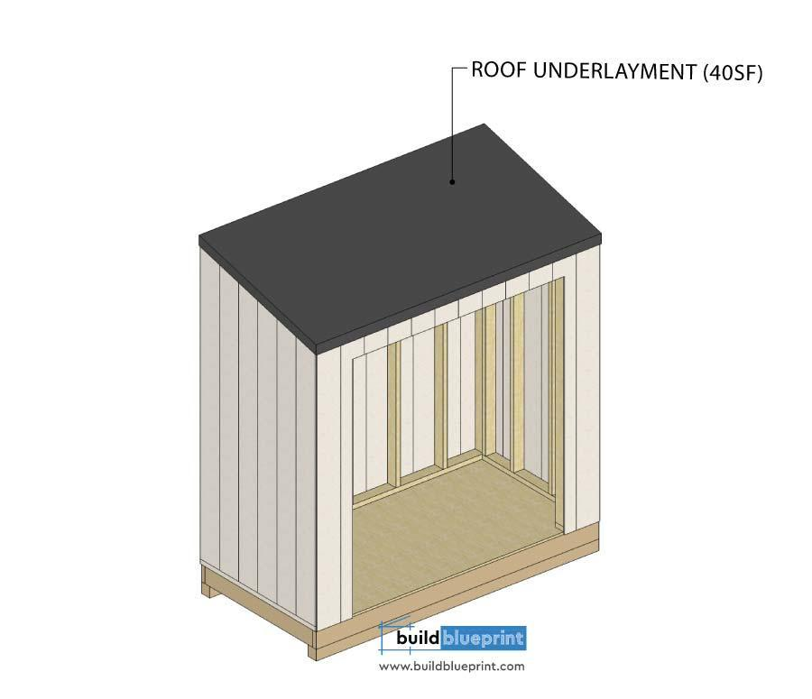 18. 4x8 Lean To Shed Plans