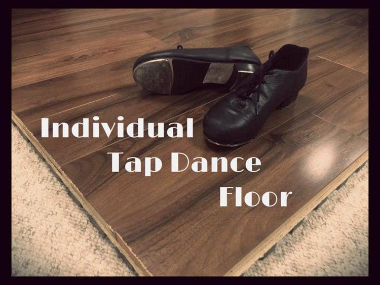 18. DIY Individual Tap Dance Floor