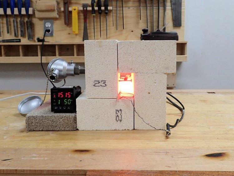 18. DIY Mini Electric Forge