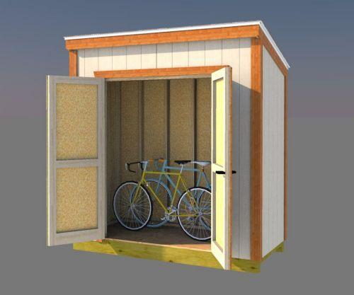 19. 4x8 Lean To Shed Plans