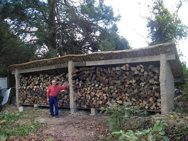 19. How To Build A Cob Wood Shed