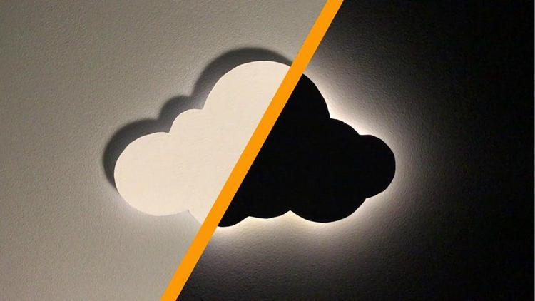 2. DIY Cloud Night Light
