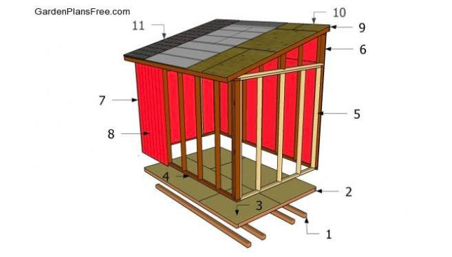 2. DIY Lead To Shed Plans Free