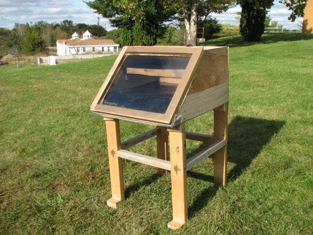 2. Solar Food Dehydrator DIY