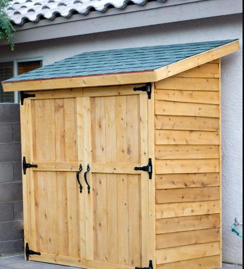 20. DIY Lean To Shed Plans